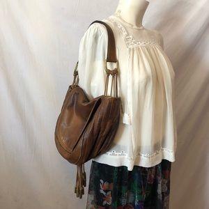 Rare! vtg! Donna Karan New York Italy boho bag